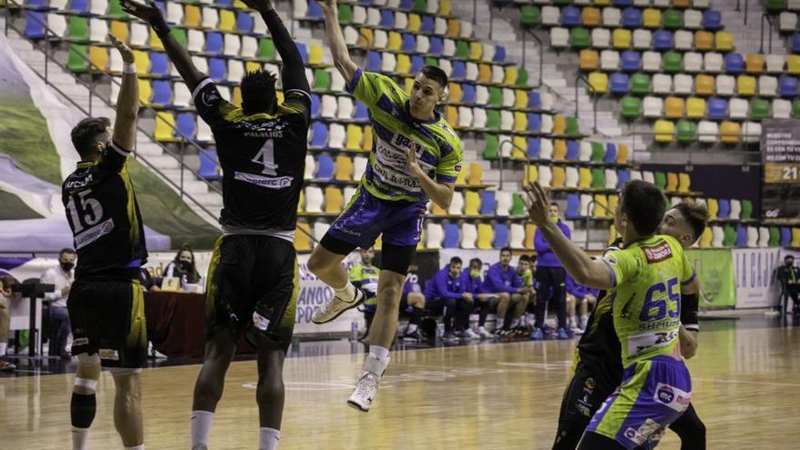 Nacho López, del Balonmano Zamora, dice adiós a la temporada