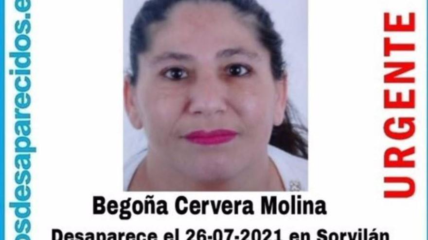 Localizado el cuerpo sin vida de la mujer desaparecida en julio en Sorvilán (Granada)