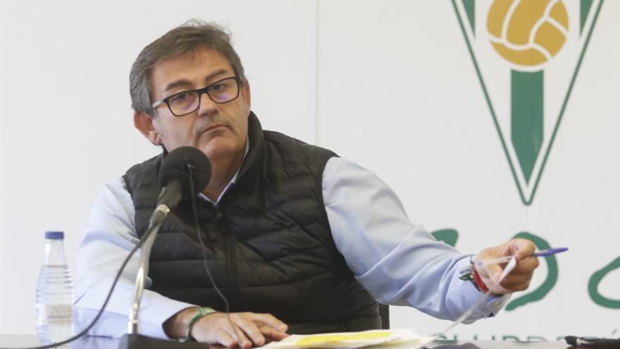Javier González Calvo pide disculpas por el fracaso del Córdoba CF