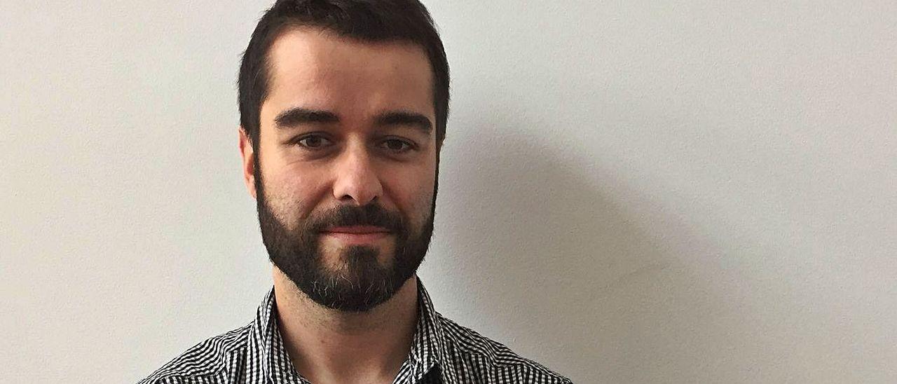 El investigador blimeíno Pablo Gutiérrez Toral.