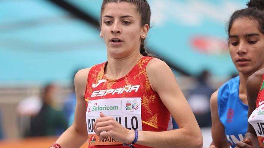 Mireya Arnedillo termina sexta en la final del 1.500 del Mundial sub-20