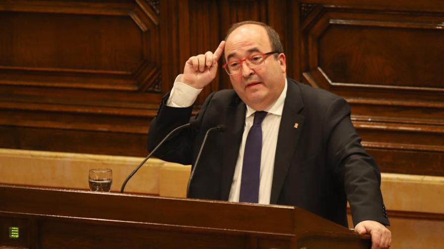 """Iceta pide reformar el Código Penal: """"Sedición no se ajusta a lo que pasó en Cataluña"""""""