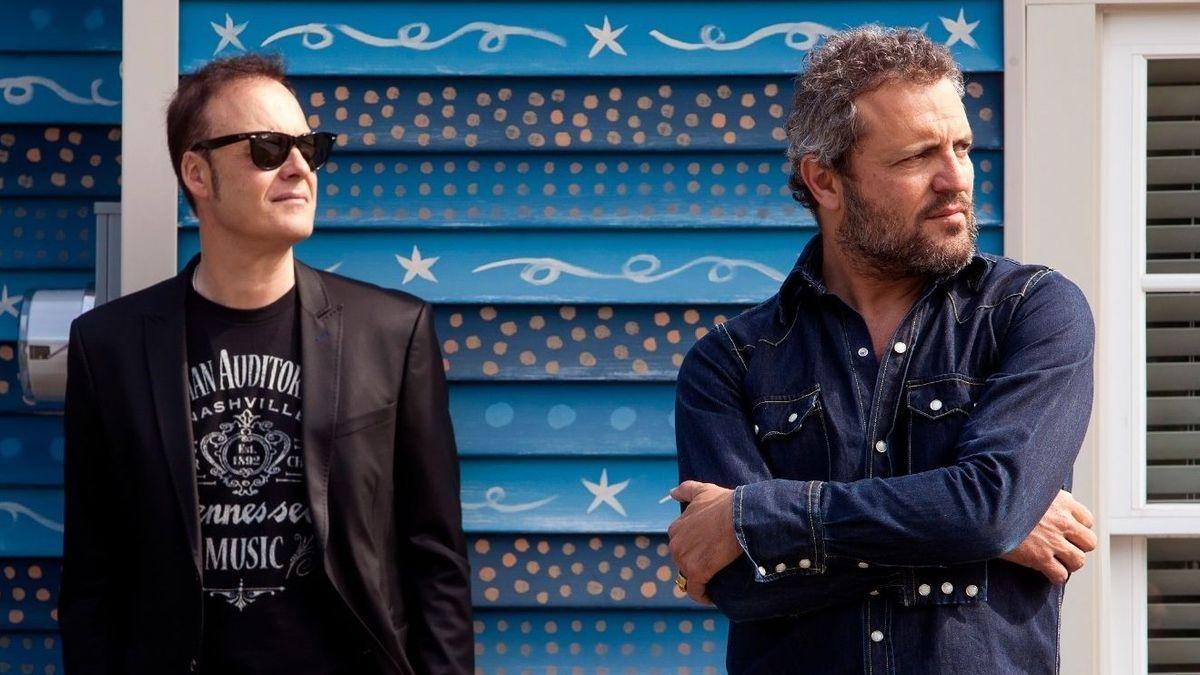 Carlos Tarque y Ricardo Ruipérez son los dos miembros de M Clan, grupo referencia del rock nacional.