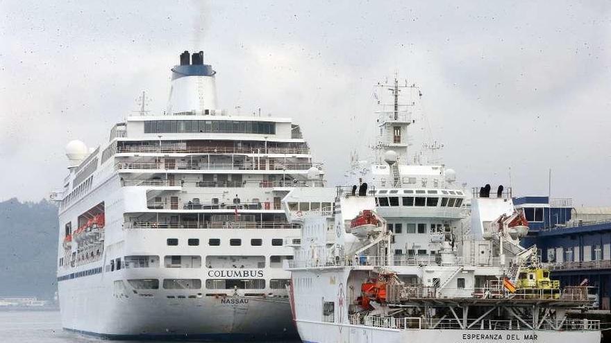"""El """"Columbus"""" para estrenar un año con 71 escalas de cruceros y 170.000 pasajeros"""