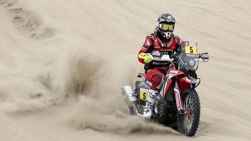 Barreda se mantiene líder del Dakar tras la segunda etapa