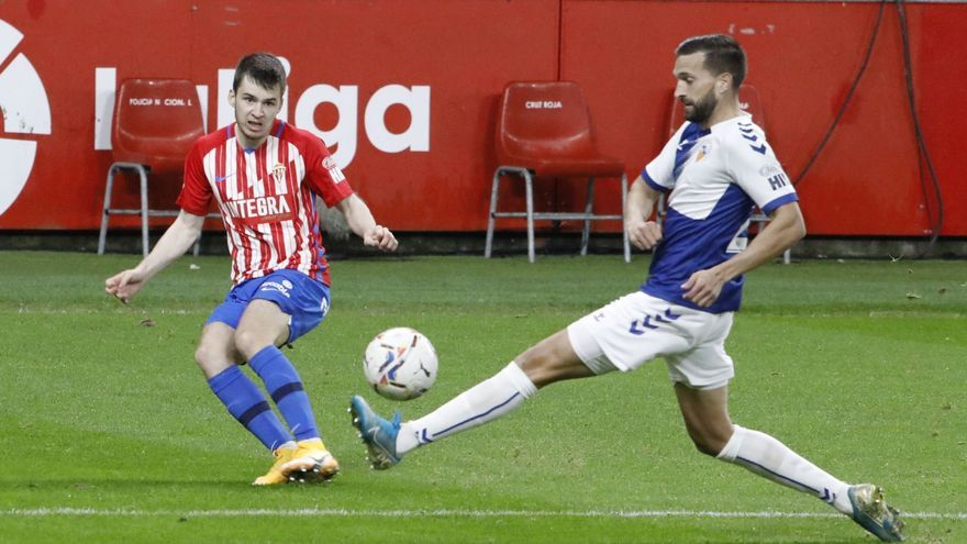 El análisis del entrenador del Sporting del triunfo ante el Sabadell