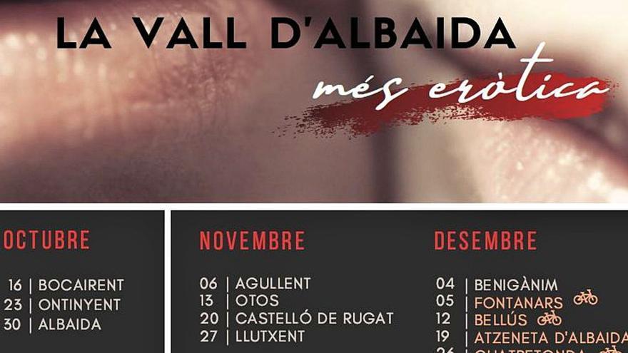 """La Vall d'Albaida explota l'erotisme com un """"agosarat"""" reclam turístic"""