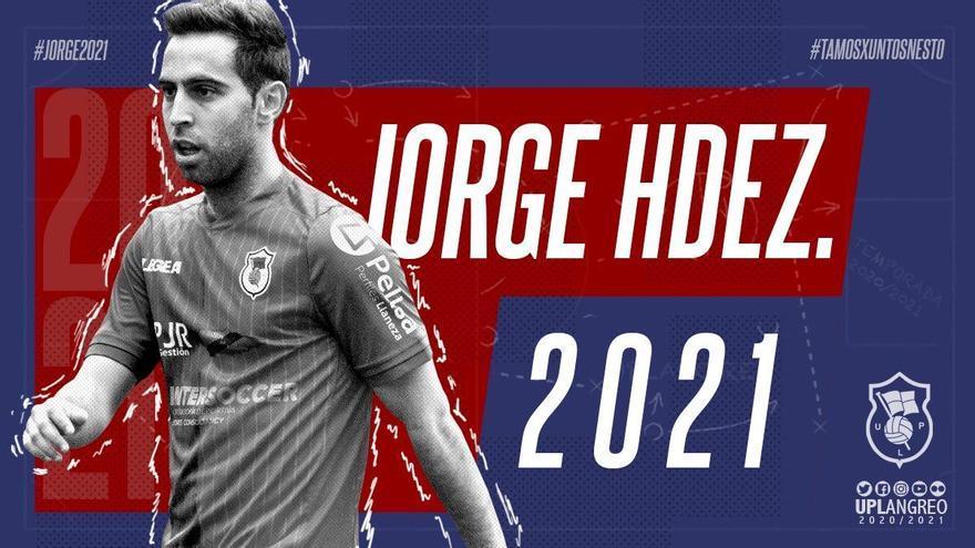 Jorge Hernández continuará un año más en el Langreo
