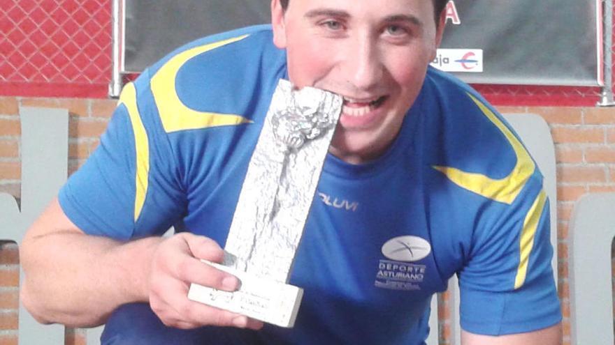 David Fernández, campeón de Asturias de Powerlifting