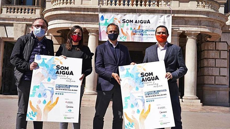 El ayuntamiento y Global Omnium celebran el Día del Agua toda la semana