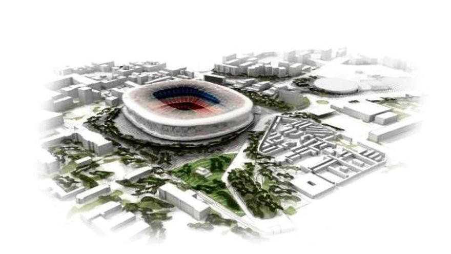 El TSJC avala la modificació urbanística de l'Espai Barça