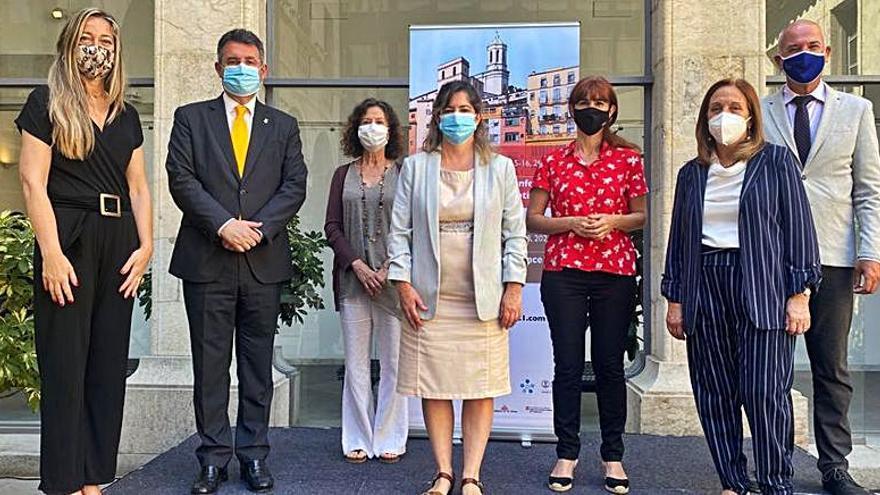 La Diputació i la UdG impulsen dos congressos internacionals de salut