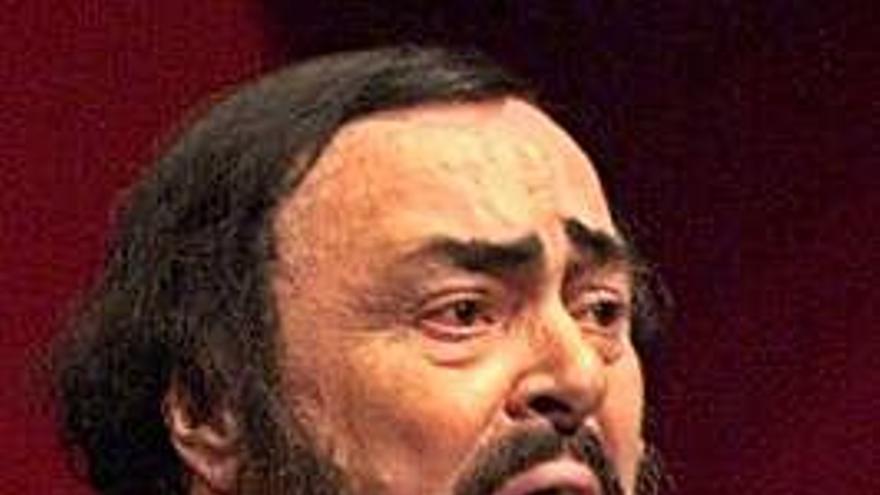 Pavarotti en tres actos