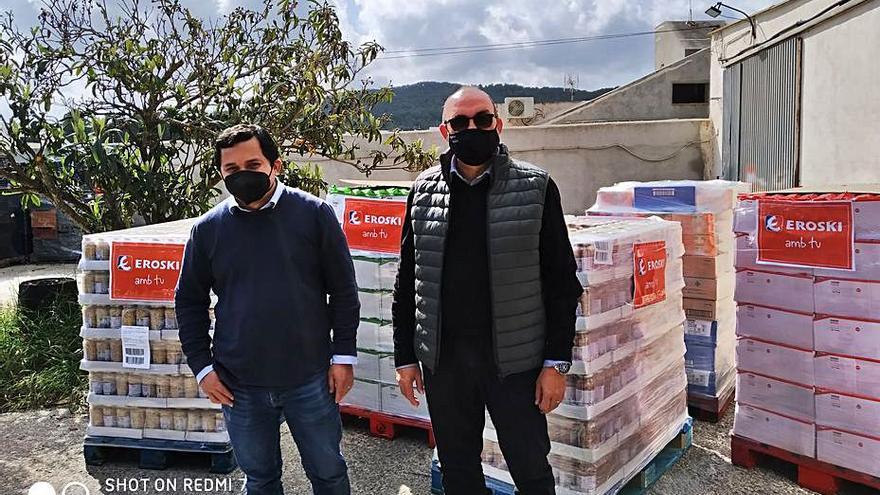 6,5 toneladas de comida para Cáritas