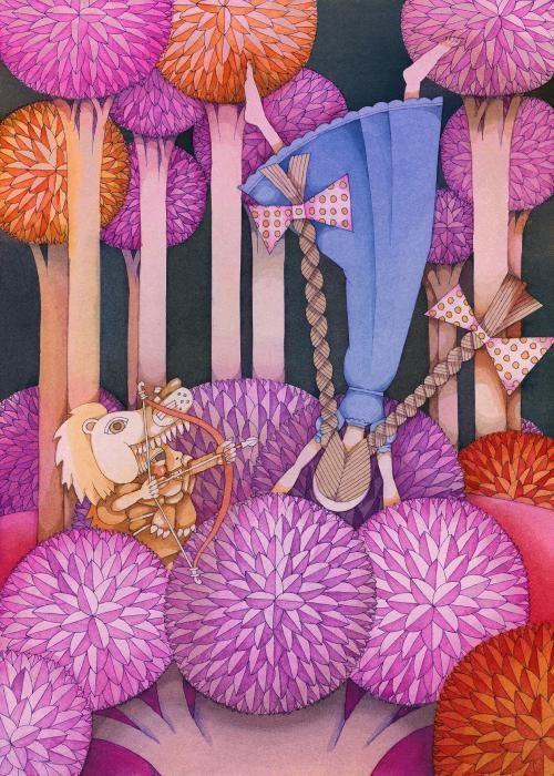 """Ilustraciones del libro """"Imaginar a Peter Pan"""" editado por Degomagom"""