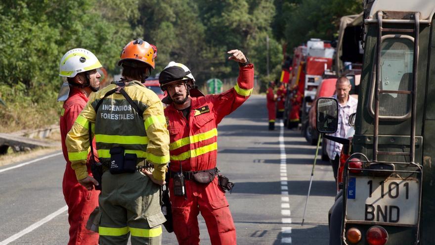 Extinguido el incendio de La Rioja, que ha quemado un centenar de hectáreas