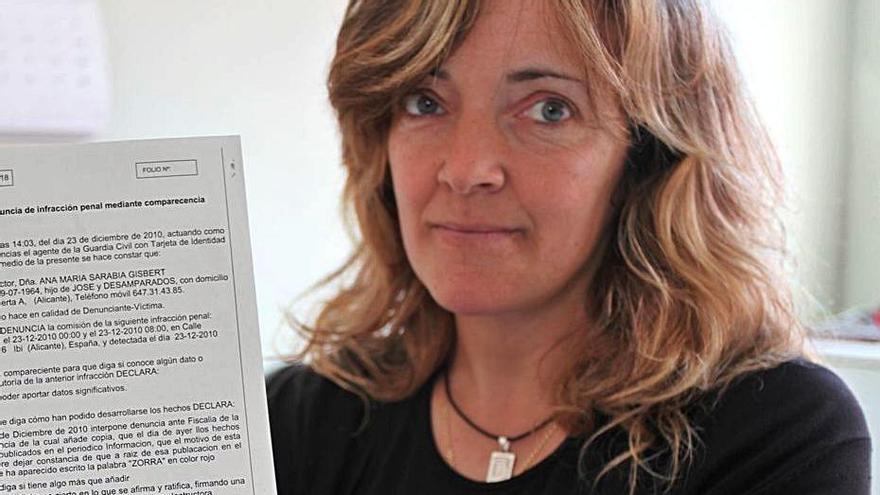 Ana Sarabia: «He sido víctima de una caza de brujas durante más de doce años»