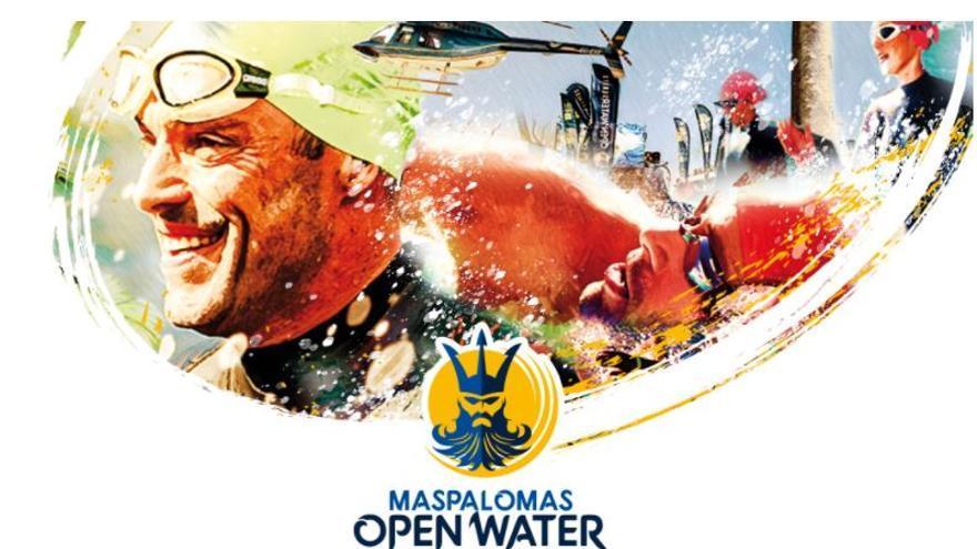 La travesía Maspalomas Open Water arranca con  la prueba de 7.400 metros