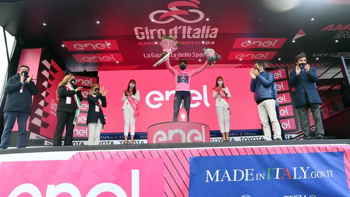Giro de Italia: Verbania - Alpe Motta
