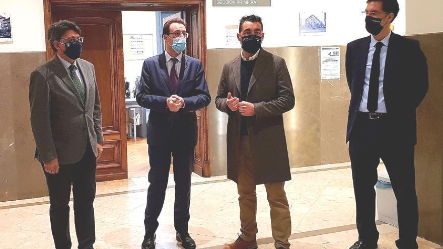 La Xunta invierte casi 300.000 euros en mejorar la climatización de la Audiencia Provincial