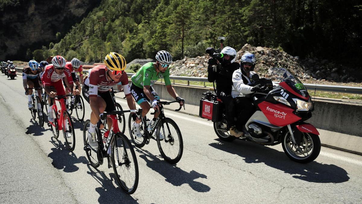 Segunda etapa del Tour de Francia.