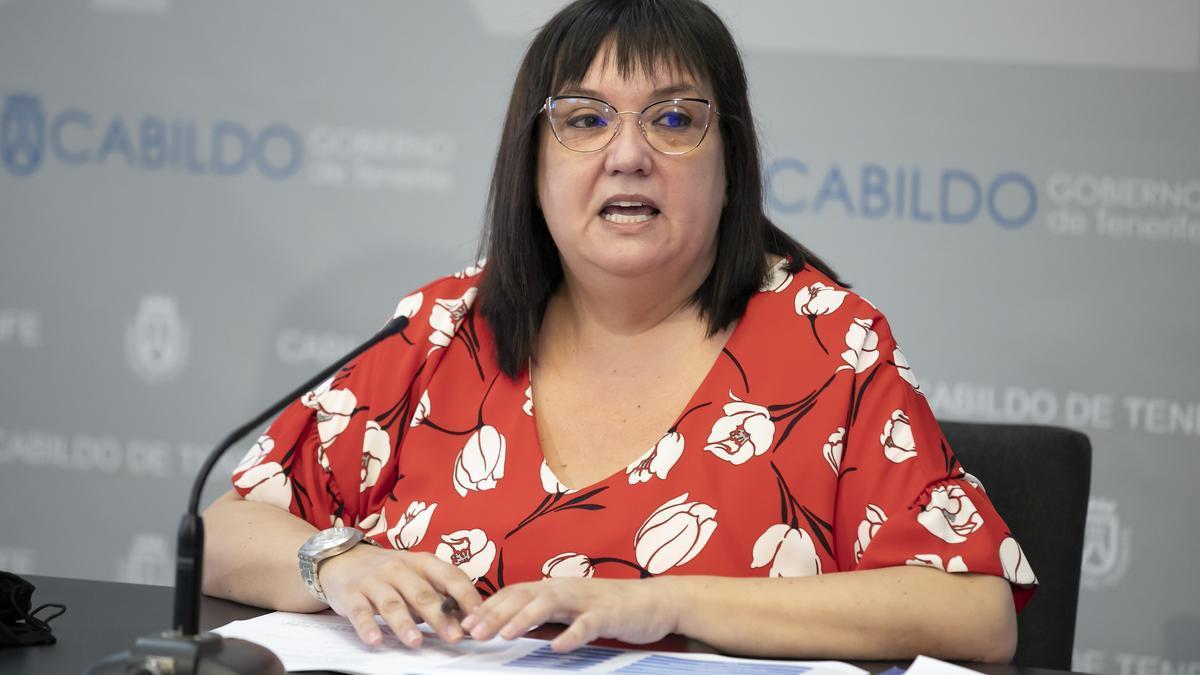 La consejera de Acción Social del Cabildo de Tenerife y presidenta del IASS, Marián Franquet