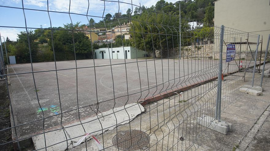 La pista del CREC de Sant Daniel, tancada pel reasfaltatge