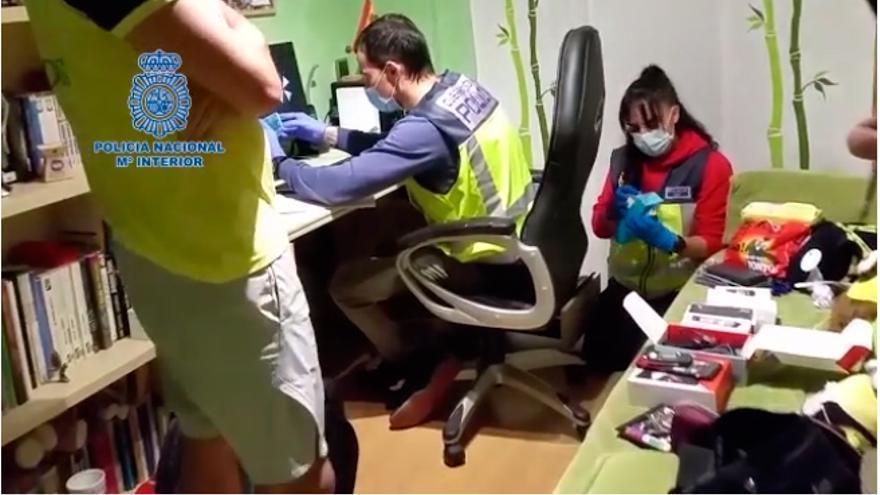 Un gallego entre los detenidos de una red de pederastas que distribuía pornografía infantil