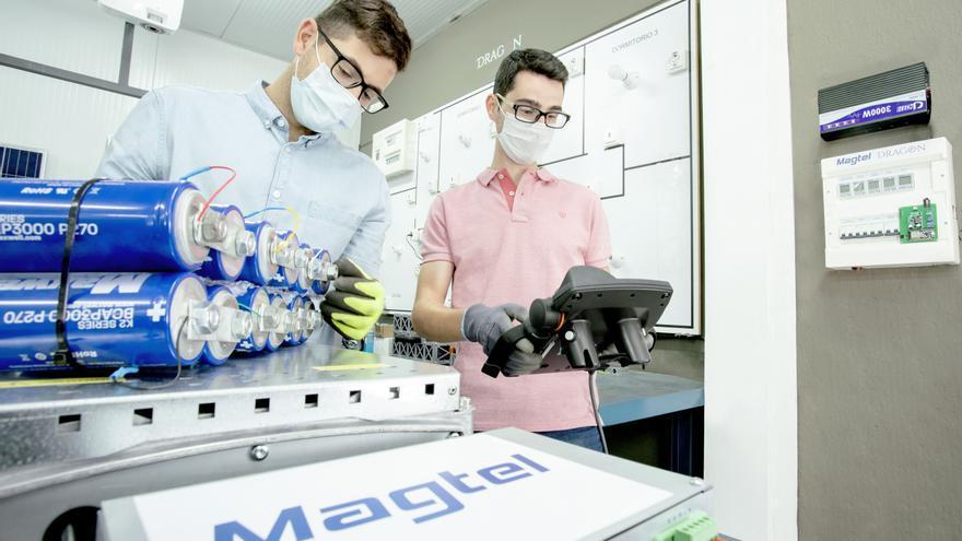 La tecnología híbrida desarrollada por Magtel en el proyecto 'Dragon' mejorará la vida útil de las actuales baterías de litio