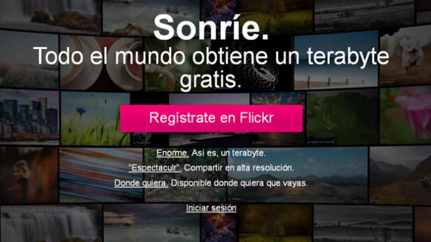 Flickr se crece