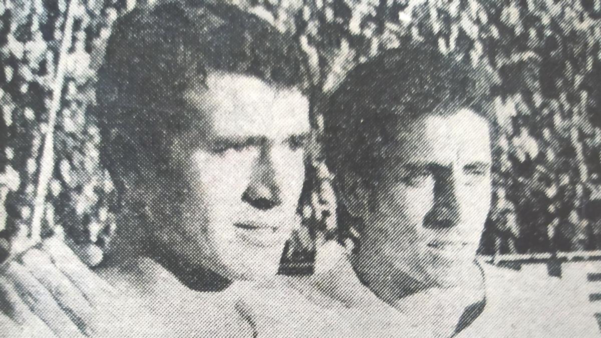 Los hermanos Pepe y Enrique Claramunt