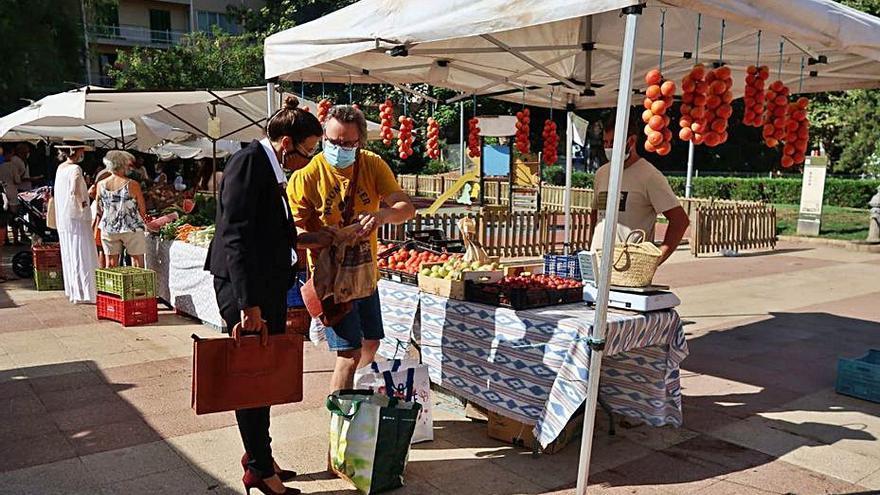 El producto local, más protagonista en los mercados de Mallorca gracias a un proyecto promocional
