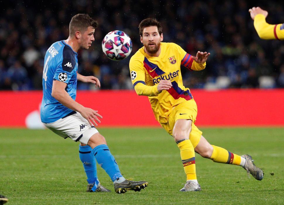 Vuitens de final de la Champions: Nàpols - Barça