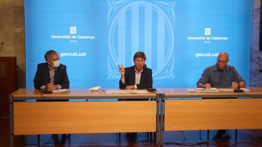 Interior reconverteix el parc de Bombers de la Jonquera i reassignarà els seus efectius