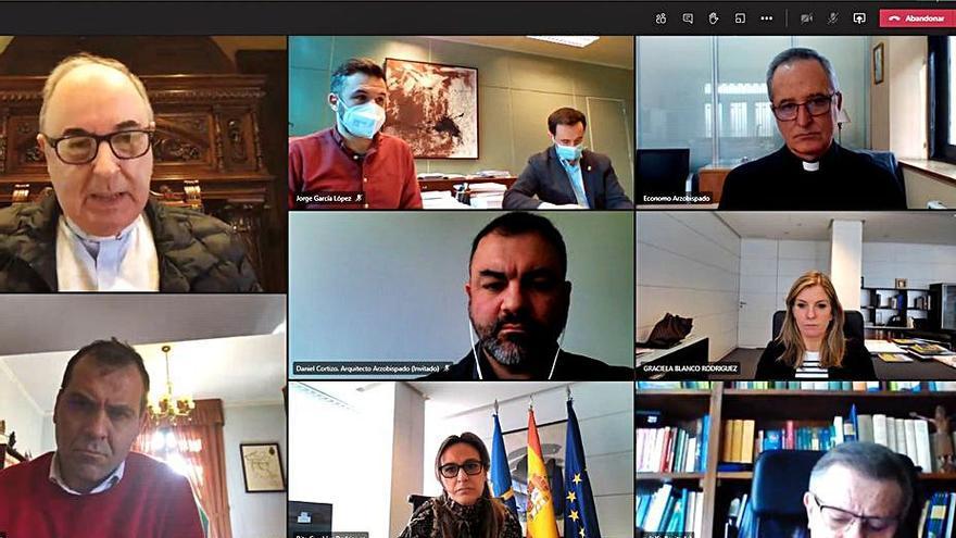 Recuperar las reuniones periódicas, objetivo de los miembros del patronato de Covadonga