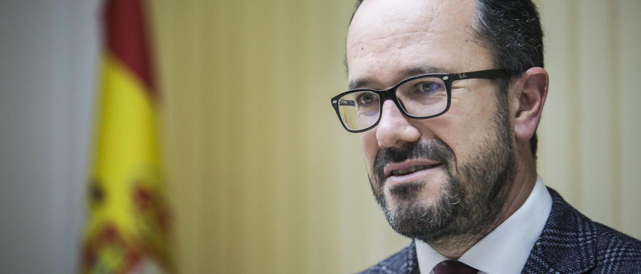Ignacio Blanco, presidente y portavoz de Vox.