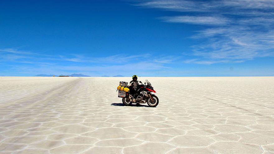 Así se ve el mundo desde una moto