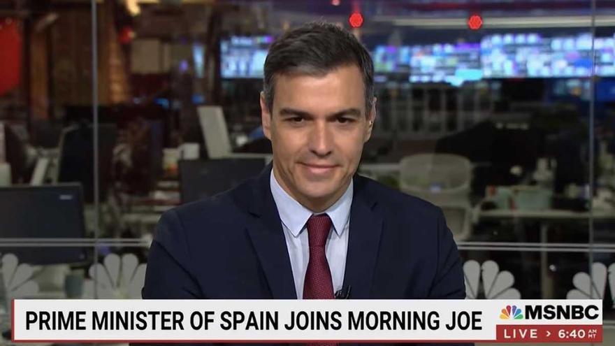 """Las redes sociales descubren al """"guapo"""" Pedro Sánchez en EE UU"""