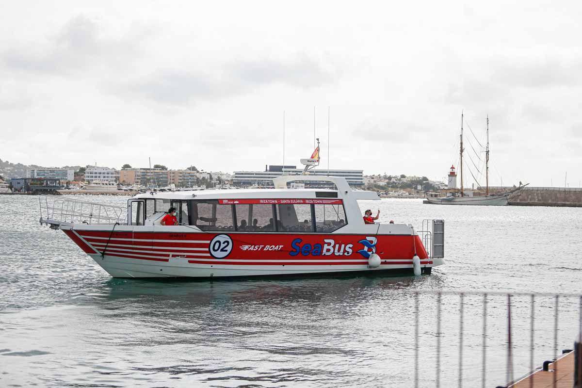 "SeaBus, la ""alternativa"" a la carretera de Ibiza a Santa Eulària"