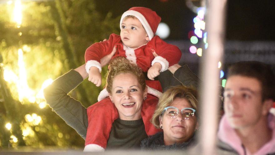 Drilo y su pandilla celebran la Navidad esta tarde en la Circular