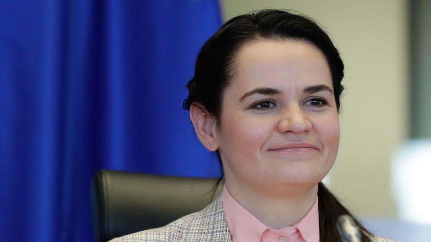 La oposición de Bielorrusia recibe el premio Sajarov 2020