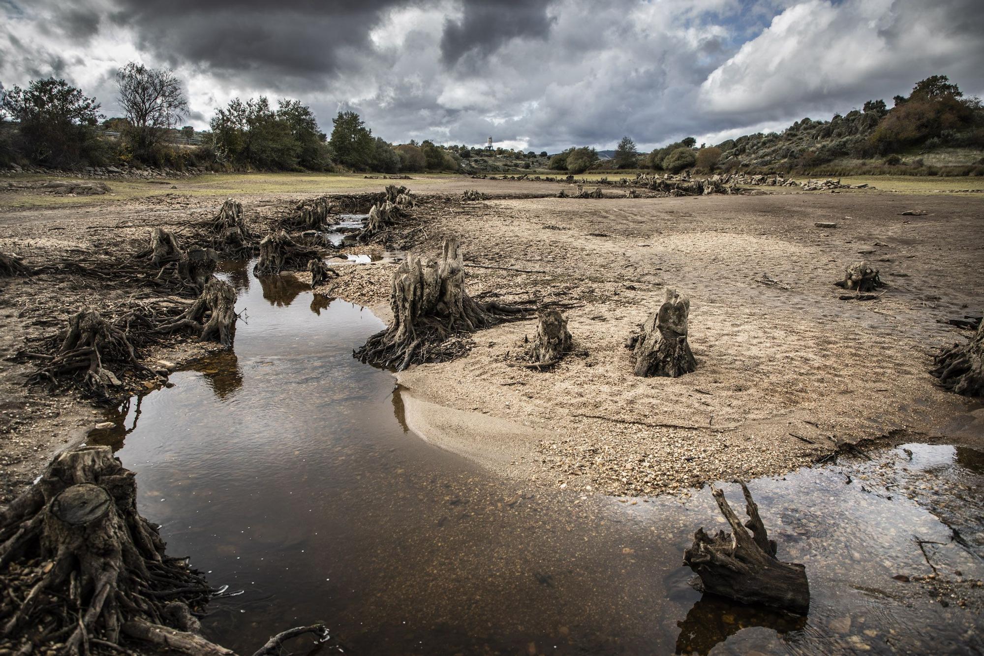 Los embalses de Zamora se vacían para recibir tormentas