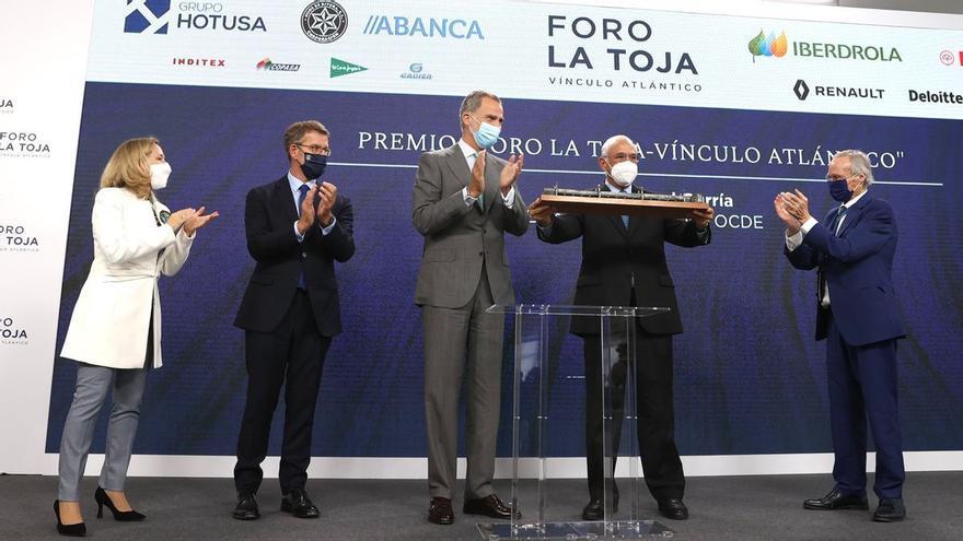 """Felipe VI: """"Ahora podemos encarar con más optimismo el fin de la crisis provocada por la pandemia"""""""