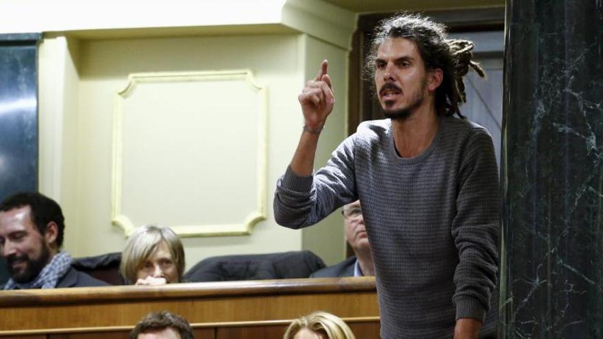 Alberto Rodríguez substitueix Echenique com a secretari d'organització de Podem