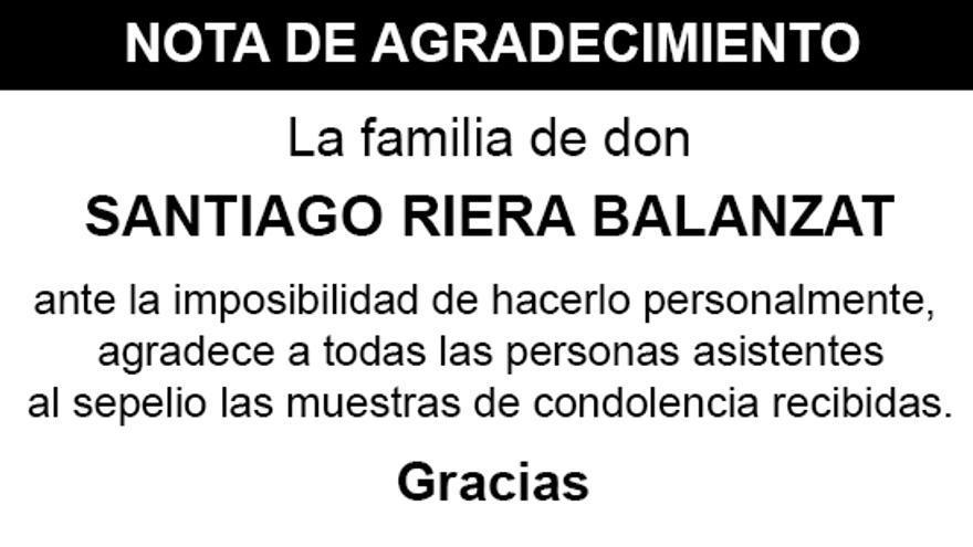 Nota Santiago Riera Balanzat