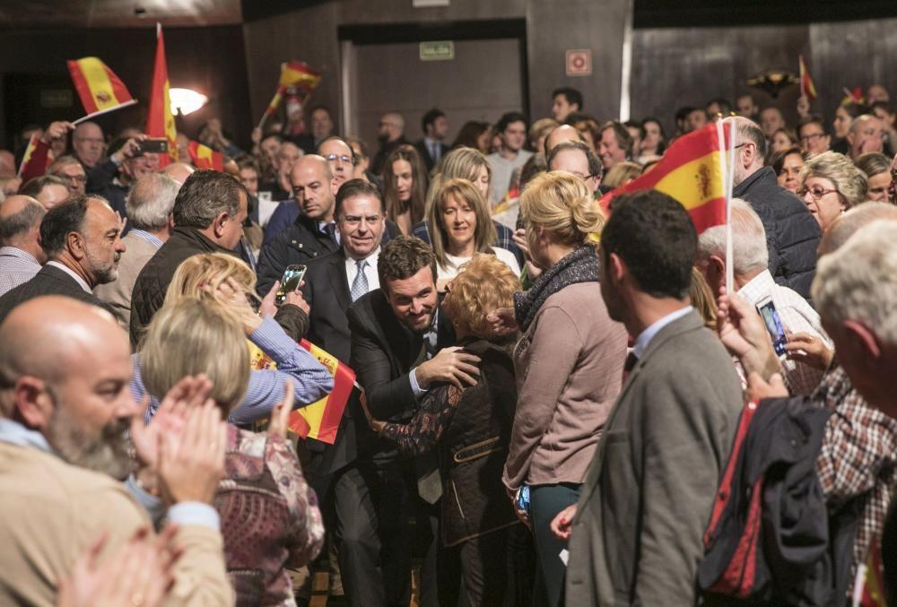 Mitin de Pablo Casado en Oviedo