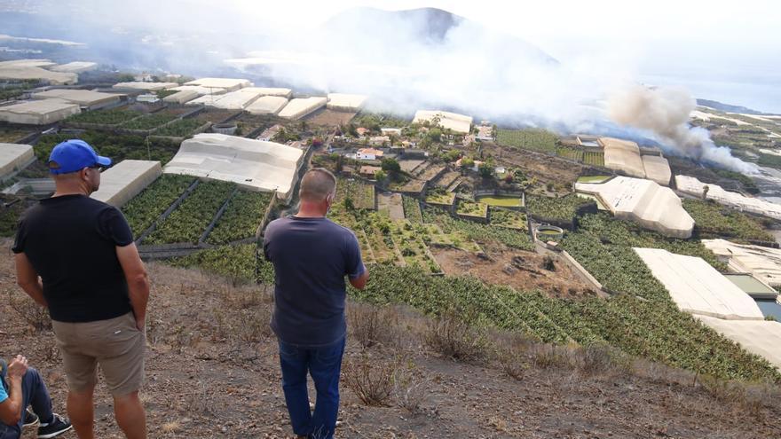 Parón a la vuelta a las aulas por seguridad ante el volcán de La Palma