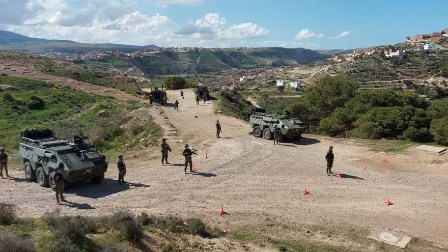 Quince soldados heridos al chocar dos blindados en Albacete