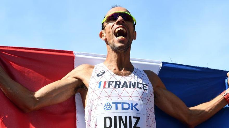 Yohann Diniz, el campeón más longevo de la historia del atletismo