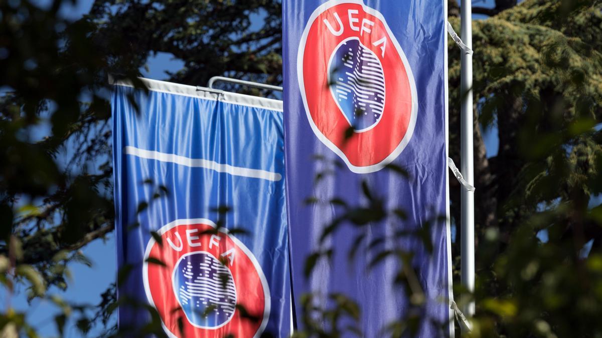 La UEFA suspèn l'expedient contra el Barça, Madrid i Juventus